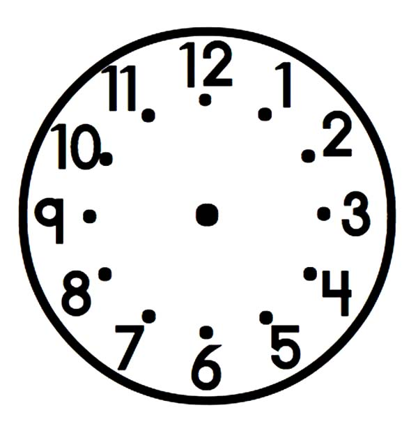 broken analog clock coloring pages bulk color