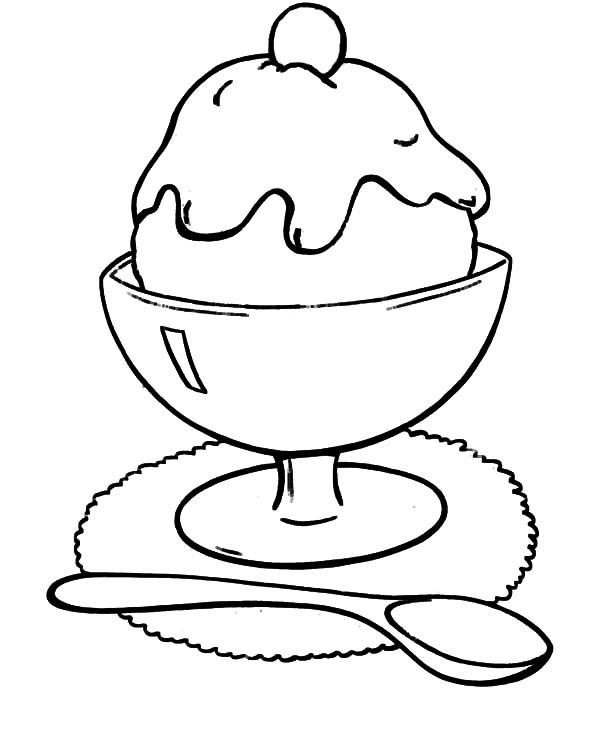 ice cream sandwich coloring pages bulk color