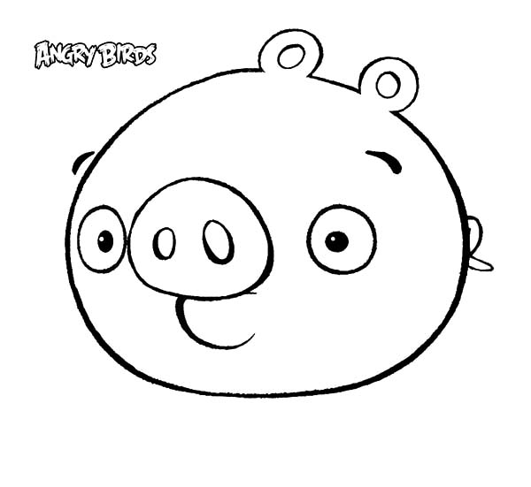 angry bird pigs coloring pages cute angry bird pigs coloring pages