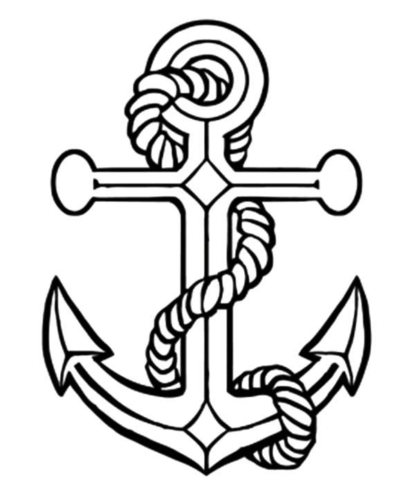 day of the seafarer anchor coloring pages day of the seafarer