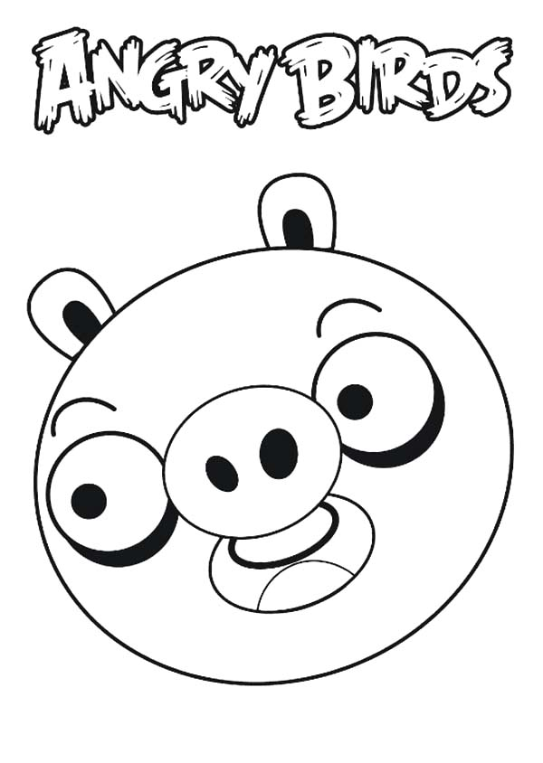 angry bird pigs coloring pages drawing angry bird pigs coloring pages