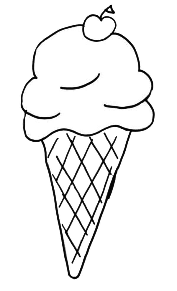drawing ice cream cone coloring pages bulk color