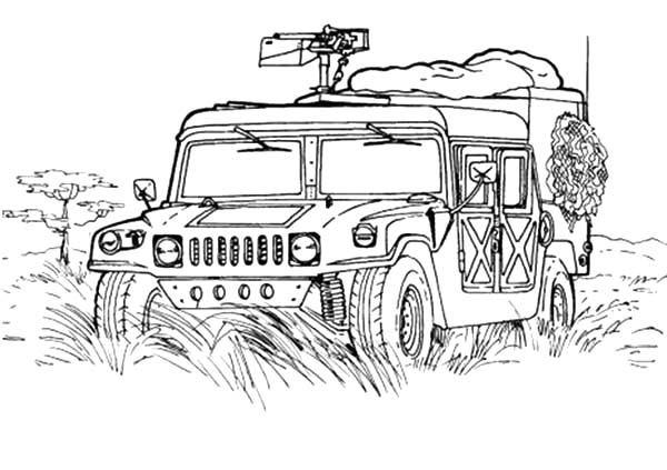 military hummer army car coloring pages bulk color