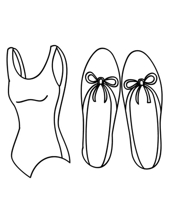 little girl ballerina shoes coloring pages bulk color