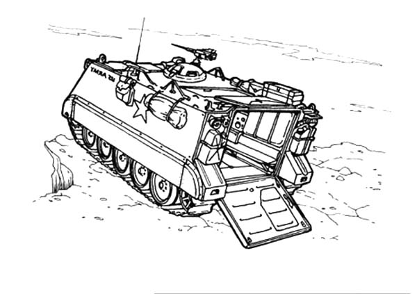 tank m113 army car coloring pages tank m113 army car coloring