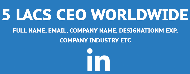 global ceo email list
