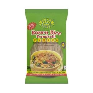 Kampung Bihun Beras Perang (Brown Rice Vermicelli) - 350 g x 10 pck