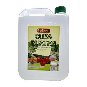 Selera Brand Cuka (Vinegar) - 4.5 kg x 4 btl x 1 ctn