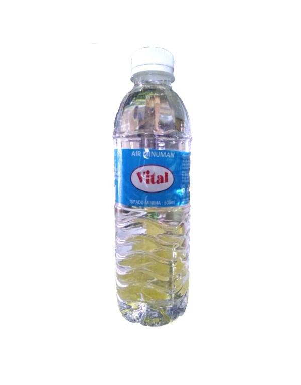 Vital Air Minuman (Drinking Water) - 500 ml x 24 btl x 1 ctn