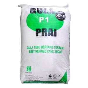 Gula Prai (Refined Cane Sugar) - 50 kg x 1 beg