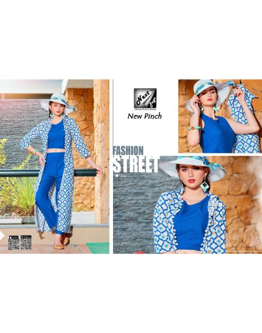 Rs 765 Pc New Pinch Top With Pant & Shrug Wholesale Catalog 10 pcs