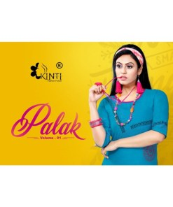 Rs 268 Pc Palak By Kinti Stitched Kurti Wholesale Catalog 12 pcs