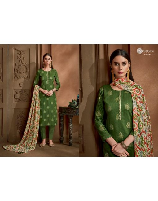 Rs 699 Pc Sadhana Vol 22 Wholesale Suit Catalog 10 pcs (Unstitched)