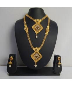 Two Line Traditional Necklace