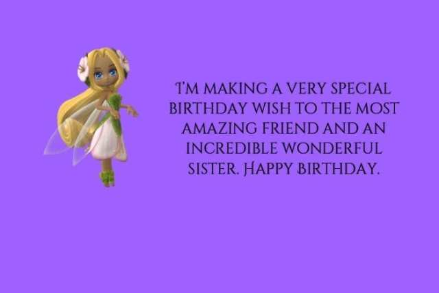 Happy Birthday Sister funny images