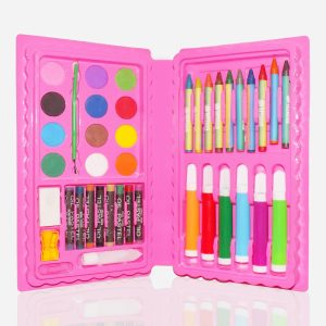 1092 Art and Craft Color Kit (Crayons, Water Color, Sketch Pens) - 42 Pcs - Bulkysellers.com