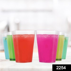2254 Multi Purpose Unbreakable Drinking Glass (Pack Of 6) - DeoDap