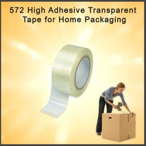 0572 High Adhesive Transparent Tape for Home Packaging - Bulkysellers.com