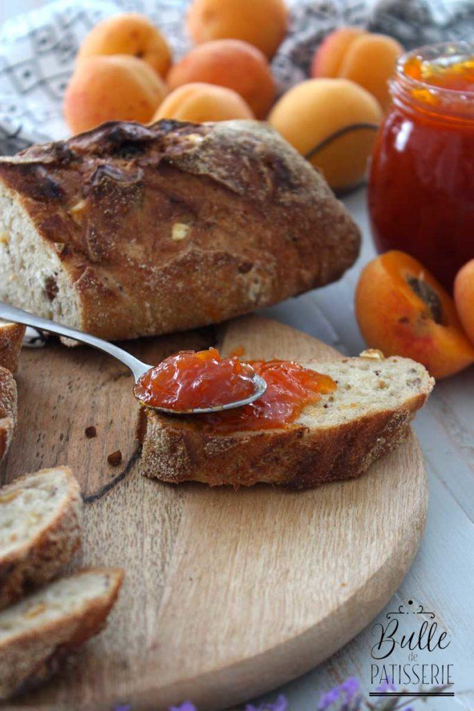 recette confiture abricots lavande