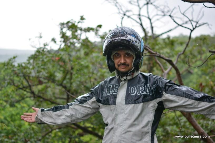 Bulleteers rider Mragendra Chaturvedi