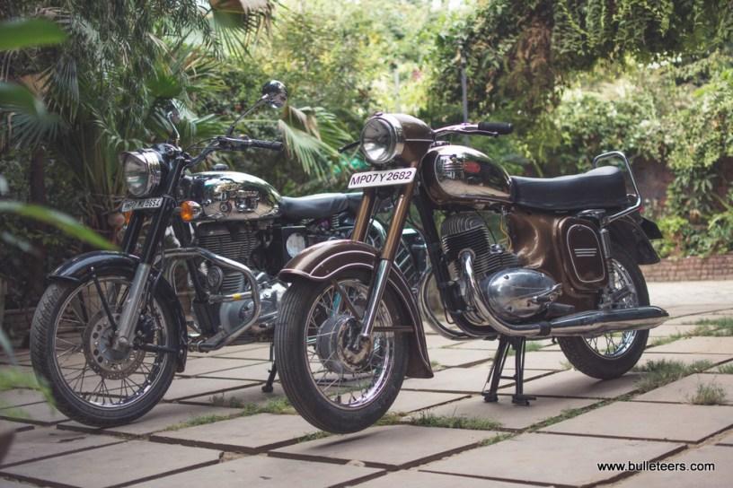 Jawa 250 Motorcycle of make year 1972