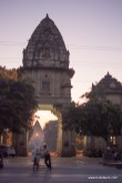 The Chhatri gate opposite bulleteers meeting point on theme road, Gwalior