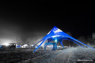 The red bull pyramid tent at rider mania 2015