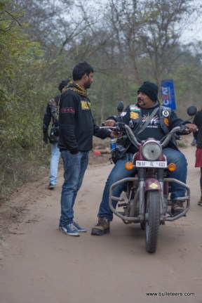 Riders from Madras Bulls at Rider Mania 2015