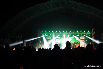 The main stage at the rider mania 2015