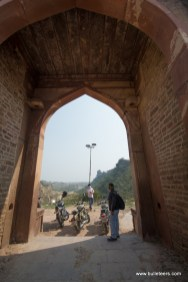 A the Shergarh fort, Dholpur Rajasthan