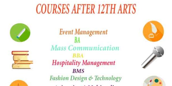 all courses after 12th- Arts
