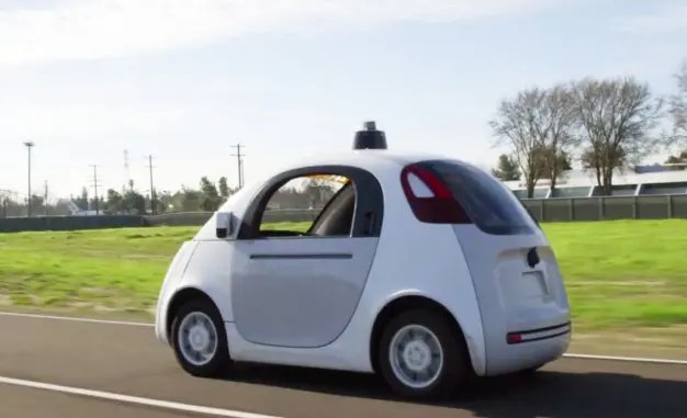 google self driving car cost