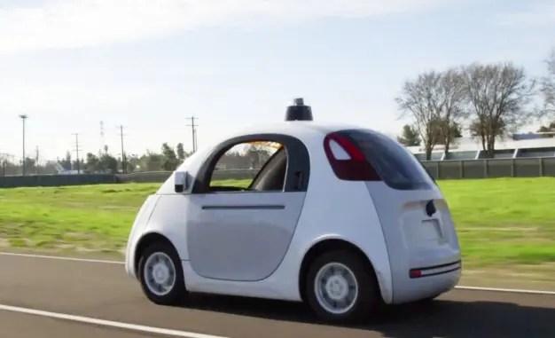 google self driving car cost