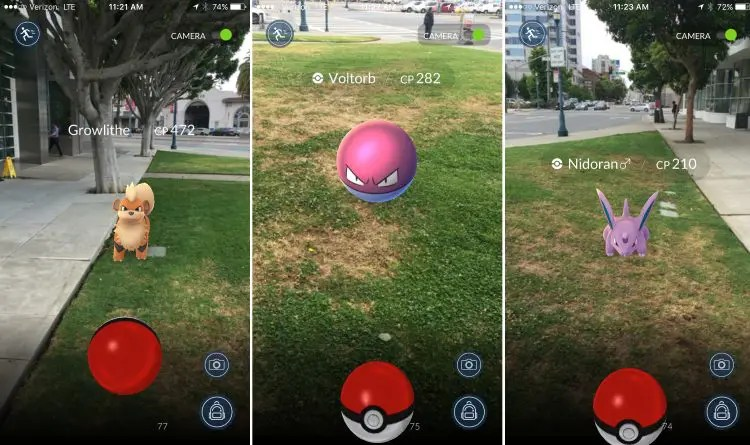 how many people will turn up to catch Pokemon?