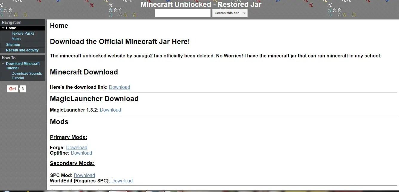 minecraft mods download unblocked at school