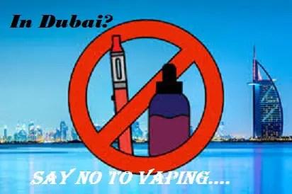Vaping in Dubai?- Severe Punishment awaits you!