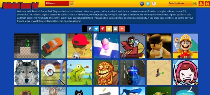 best unblocked game sites