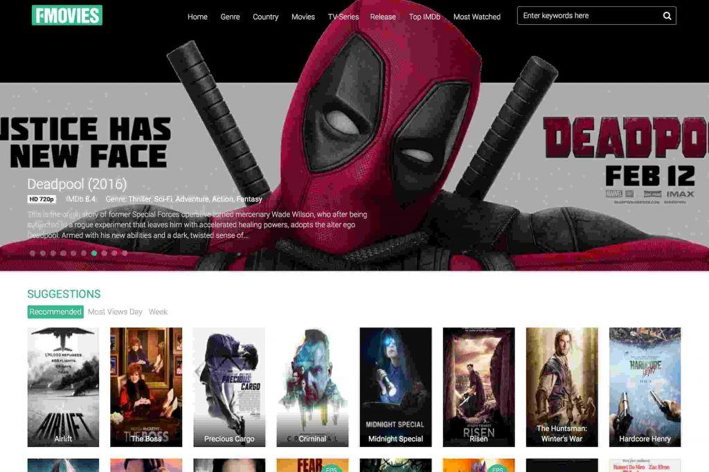 Sites Like 123Movies - A Select list of Alternatives