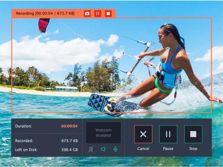 Movavi Screen Recorder the best video recorder