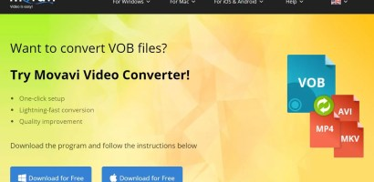 How to convert VOB files Movavi Video Converter