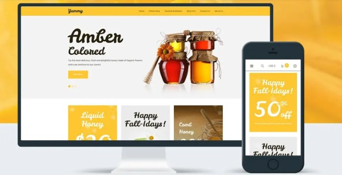 Commerce Themes from TemplateMonster