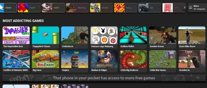 Best websites to play online games