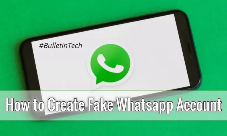 How to Create Fake Whatsapp Account