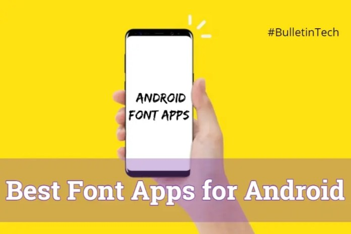 Best Font Apps for Android