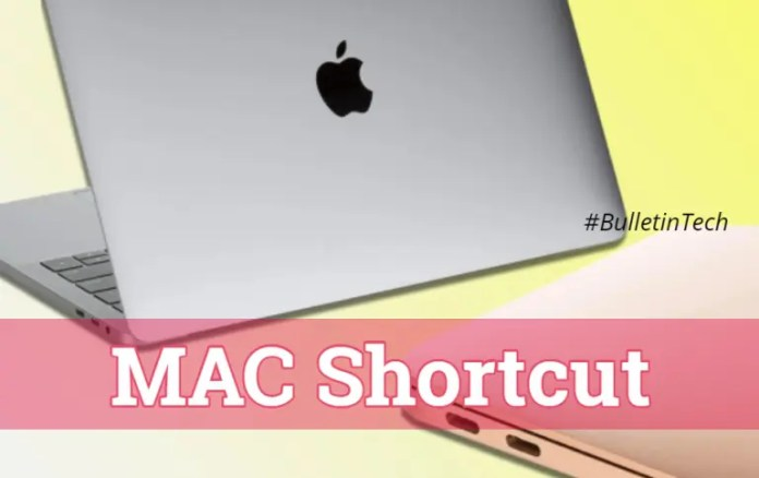 MAC Shortcuts