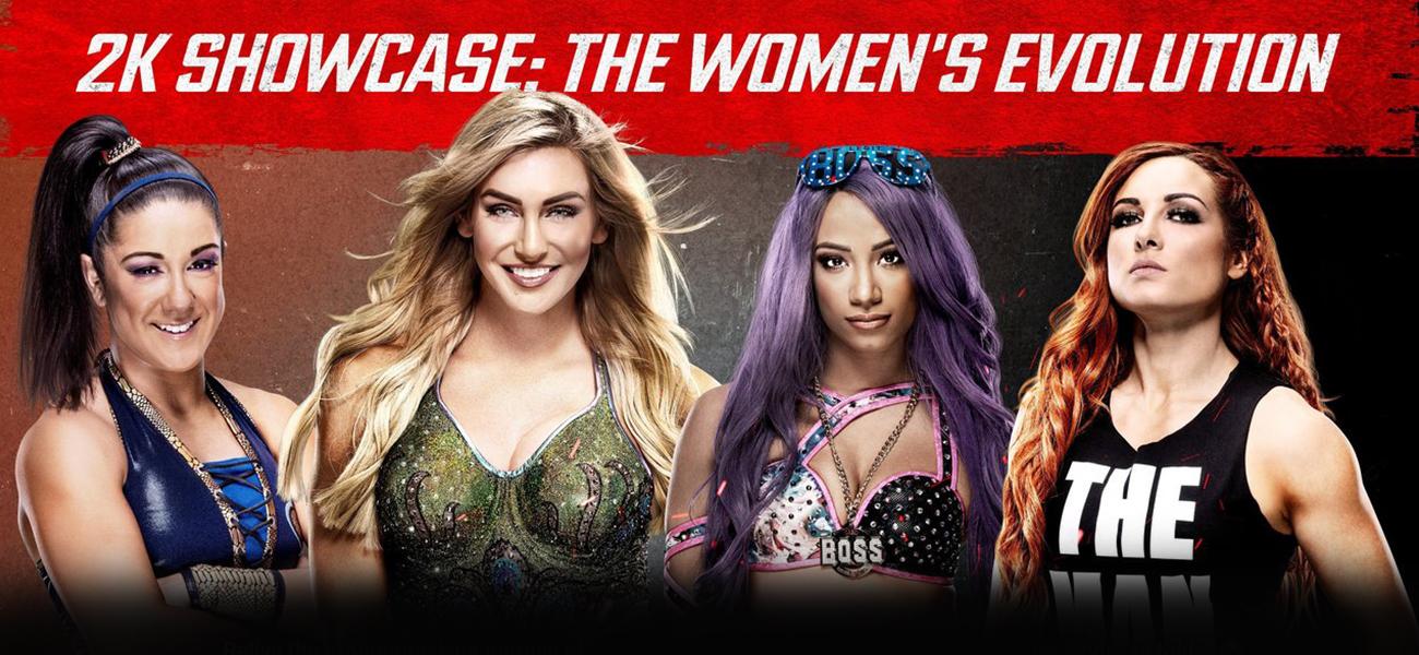 WWE 2K20 Women Evolution Showcase Mode