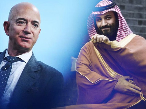 "Amazon CEO ""Jeff Bezo's"" Phone Hacked By Saudi Crown Prince"