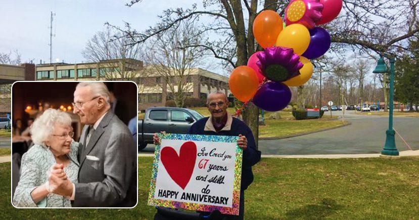 man found new way to celebrate his wedding anniversary