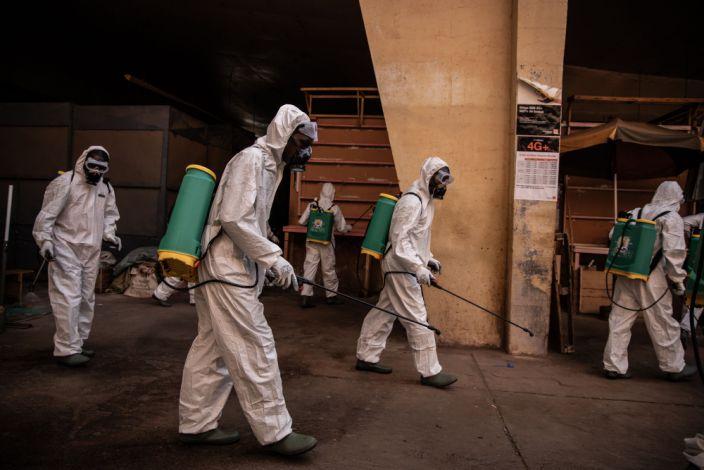 Africa closed due to Coronavirus