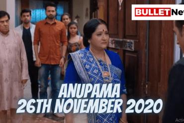 Anupama 26th November 2020